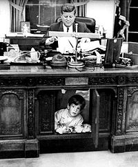 Remembering our dignified past memories surrounding the Resolute desk..