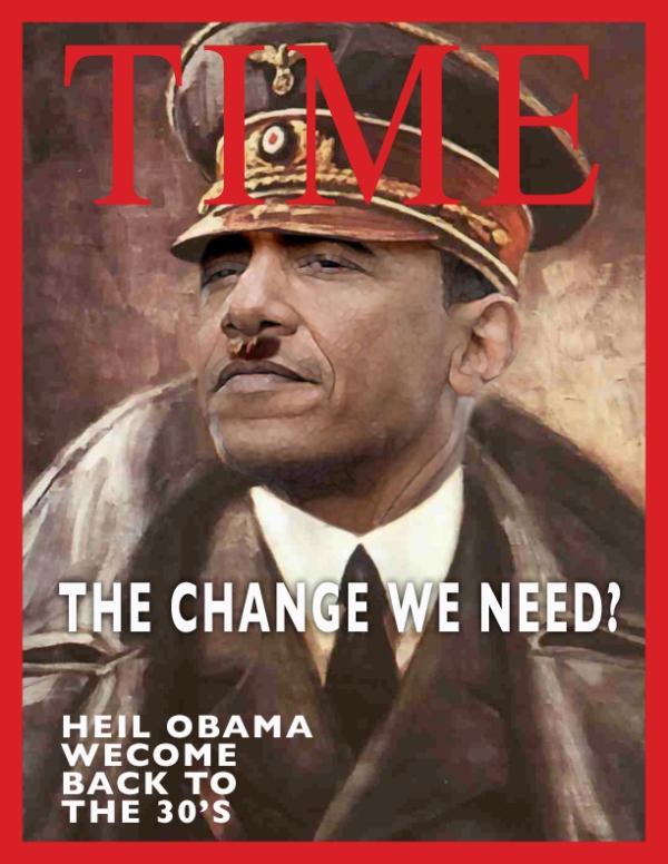 Obama as Hitler