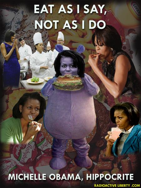 fat michelle obama