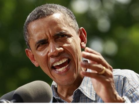 Obama aping
